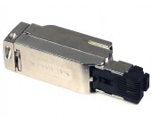 PROFINET connector 100Mbit/s RJ45, Fast Connect 180°