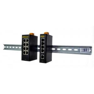 Opal5 průmyslový switch DIN, 4x100M+1x optika/100M, IEC 61850), FOXON
