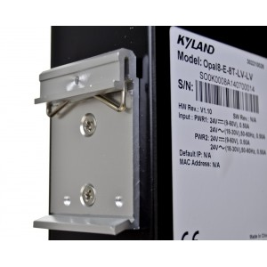 Opal8 industrial switch 8x 100M or according to the configuration