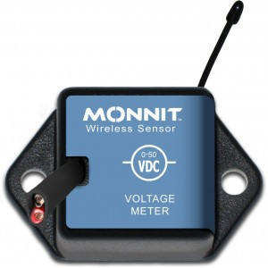 Wireless Voltage Meters Monnit, Coin Cell format