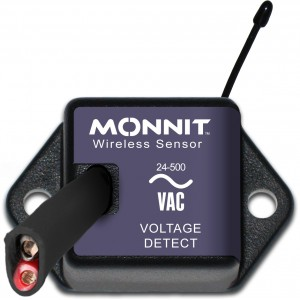 Wireless Voltage Detection Monnit, Coin Cell format