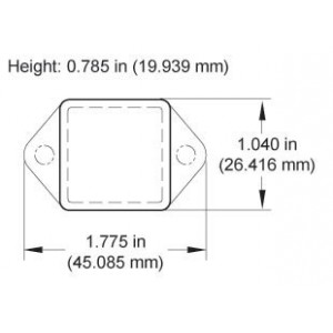 Wireless Current Meter Monnit, Coin Cell format