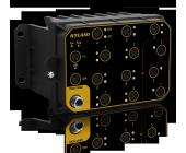 Aquam8012A, 8+4G/9+3G Port Layer 2 M12 průmyslový manažovatelný switch EN50155, IP65, FOXON