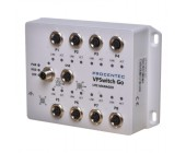 VPSwitch Go Lite 8xM100 M12 průmyslový lehce manažovatelný switch EN50155, IP54