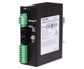 Převodník RS232/422/485 na optiku KOM200, nemanaž. převodník ze sériové linky (RS232/422/485) na optické médium, FOXON