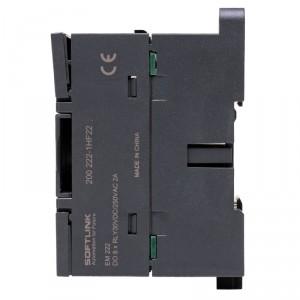 8xDO digitální relé výstupy DC/AC 24V-230V, EM222, FOXON Liberec