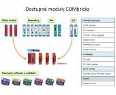 8x digitální vstupní modul 24 VDC COMbricks, FOXON