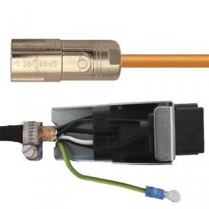 Napájecí kabely pro servomotory s brzdou