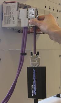 Připojení testeru ProfiTrace 2 do sítě PROFIBUS